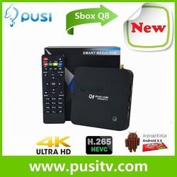 Pusi Q8 Best Quad Core Rk3288 4K Smart Tv Box Distributors Canada Q8