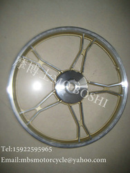 top quality hot sale chrome motorcycle rims