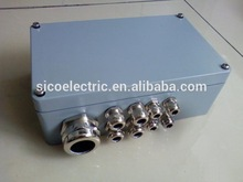 copper and nylon cable gland and connector junction box