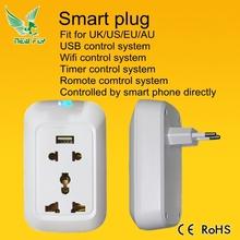 New Fly 2015 smart USB Power Plug For Smart Home Automation, High Quality Smart USB Power Plug