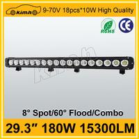 High intensity headlight type 180w wholesale led light bar