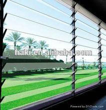 Aluminum Frame Sliding Large Glass Window