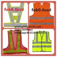 children safety vest , refelecting vest refelective vest ,reflection vest,police vest,work vest ,high visibility vest