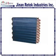 Aluminum foil copper refrigerator evaporator