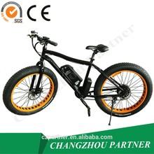 "Hot selling in Europe 500W hub motor 26""*4.0 tire fat e-bike/fat tire snow e bike"