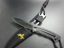 stainless steel fixed blade survival knife
