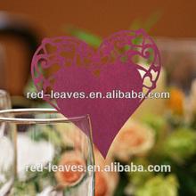 religious unique party favor&product type item heart shape place card holder