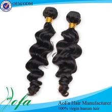 Powerful factory hair vender raw 100% unprocessed virgin indian hair weaving