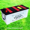 Hot Sale Automobile Engine Starting 12V 150AH DIN Standard Dry Cell Lead Acid Batteries -65031