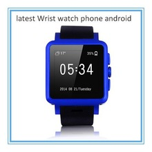 4.4 OS android wifi watch phone / 3G watch cell phone /touch screen SIM watch phone v8