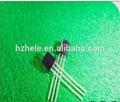 plastik ambalaj npn bipolar transistör s9014 fabrika çıkış
