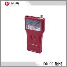 5 in 1 network cable tester for UTP STP RJ45, RJ11 RJ12, BNC, USB & IEEE1394