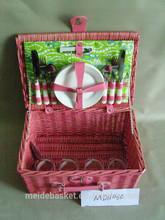 mini picnic basket wicker picnic baskets wholesale wicker picnic basket set