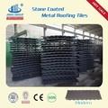Piedra revestida de metal para techos del azulejo de mercado/con techo de paja de bambú gazebo