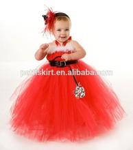 Solid Color Pettiskirt little Girl Skirts Dance Tutu Dress Baby Skirt Petticoat
