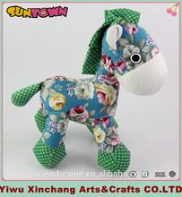 2015 New product plush custom stuffed animal toy/ plush horse toy