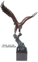 BLN-1436 brass craft decorative Eagle figurines small brass animals