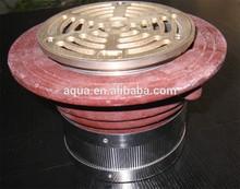 cast iron floor drain
