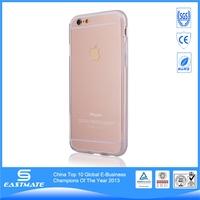 Bright soft tpu case for apple iphone 6 2 piece bumper case