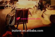handmade desert oil painting reproduction salvador dali