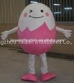 adultos de huevo de pascua traje de la mascota