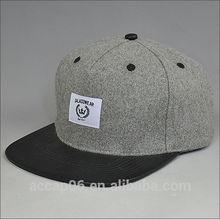 blank flat brim snapback cap