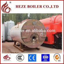 Little scale low pressure diesel or gas boiler