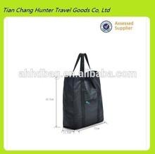 HDG2153 black reusable shopping bag,foldable shopping bag,high capacity eco-friendly shopping bag