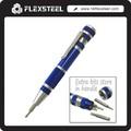 9 en 1 de bolsillo Micro precisión recargable destornillador para reparación