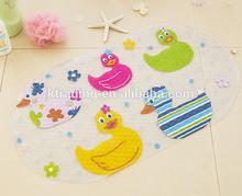 Children pvc anti-slip duck bath mat
