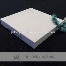 Artificial Stone Pure White Nano Crystallized Glass Stone white super Nano crystal stone tiles