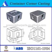 Standard iso container corner castings/steel container corner block