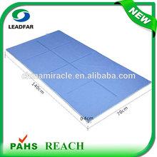 Summer Eco-friendly foldable polymer gel Sleep Cooling silicone mattress