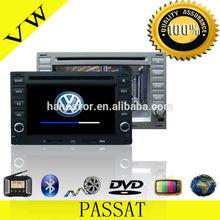OEM ODM Factory Directly Sale Double Din Car DVD Player VW Passat Audio Radio GPS Navigation System(2 Colors)