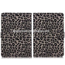 Luxury Leopard Leather Case for iPad Mini 1/2/3,shell for ipad Mini