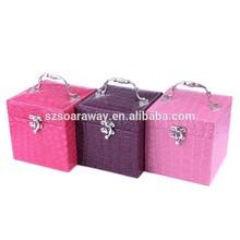 PU leather jewellery box,2015 new arrive jewellery box wholesale,pretty gift box for girls