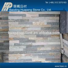 Decorative wall cladding panel green garden slate tile