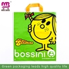 rectangle transparent recyclable shopping bag personalized