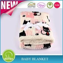 2ply flannel fleece+sherpa blanket queen/king size/baby cuddles