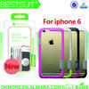 Mobile Phone Accessories Factory In China Pc+Tpu Bumper Cellphone Case For Iphone 6