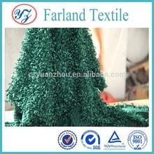 Wholesale Peacock Pile fashion drapery fabric