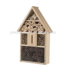 Melhor sellng grande de madeira de insetos casa casa de abelha popular artigos de jardim para os mercados europeus