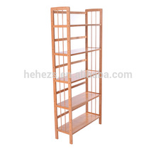 hot selling antique country style natual bookshelf high quality