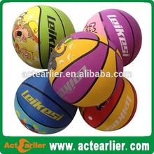 cheap custom new design basketball ball size 5