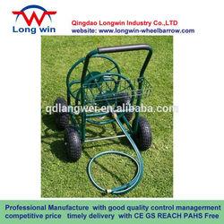 Garden water wheel , Hose reel cart