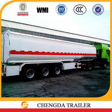 45000 litre tractor fuel truck fuel tank semi trailer