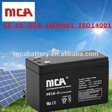 Reliable Quality Battery 24V 7Ah Gel Battery 12V 7Ah Solar Panel Battery