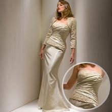 exquisite mãe da noiva vestidos de renda com camisa applique vestidas de noiva plus size vestido de festa