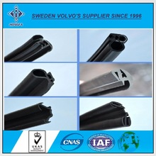 Waterproof EPDM Weather Strip, Extruded Car Door Weather Stripping