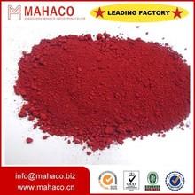 Paints/Concrete/Rubber use Iron Oxide red